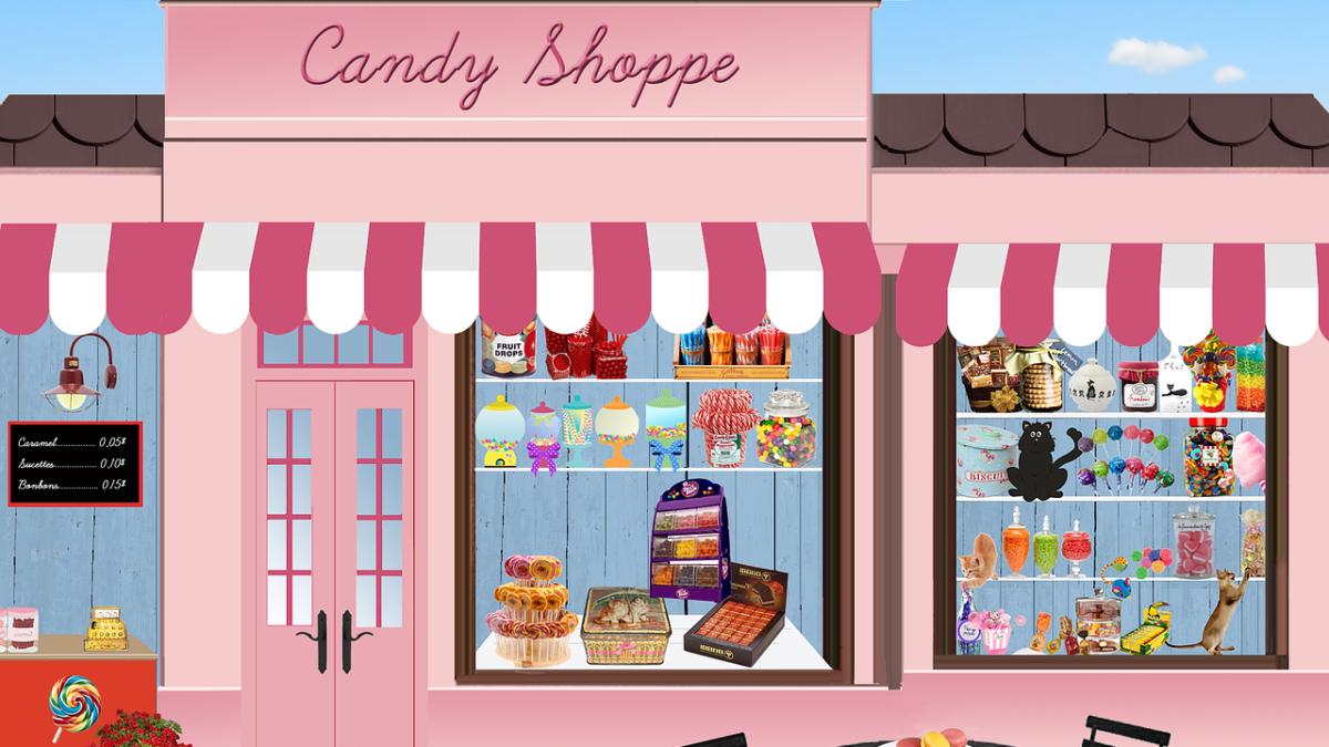 Ilustración tienda a pie de calle