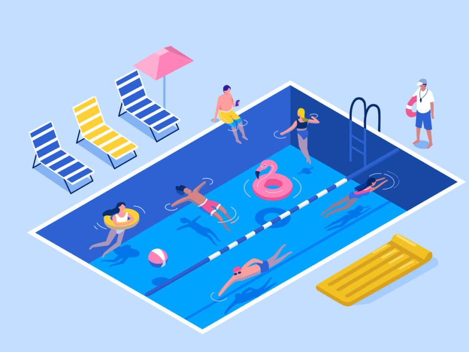 Uso de piscina comunitaria: cómo evitar conflictos